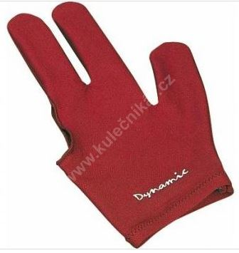 Dynamic Billiard gloves burgundy (universal for both right-and left-handed)