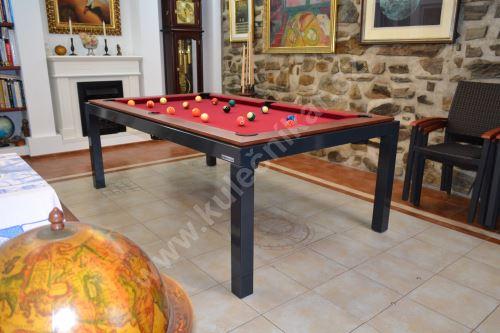 Kulečník Pool billiard OFFICE - jídelní stůl, masiv