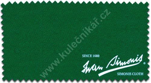 Kulečníkové poolové sukno SIMONIS 860, 198cm