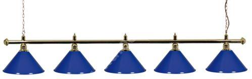 Kulečníková lampa snooker Gold Elegant 5