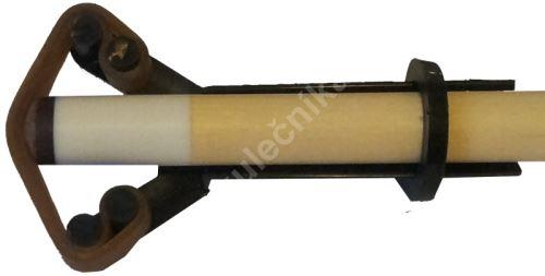 Stahovací přípravek na lepení kůže, nylon/guma