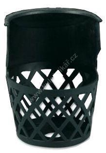 Basketball corners - less - 1pc plastic bin