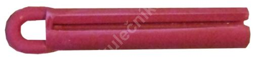 Puller for bonding leather cue - solid rubber red