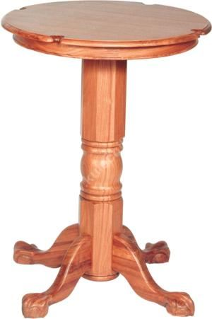 """Barový stolek """"Gloria"""", světlý dub"""