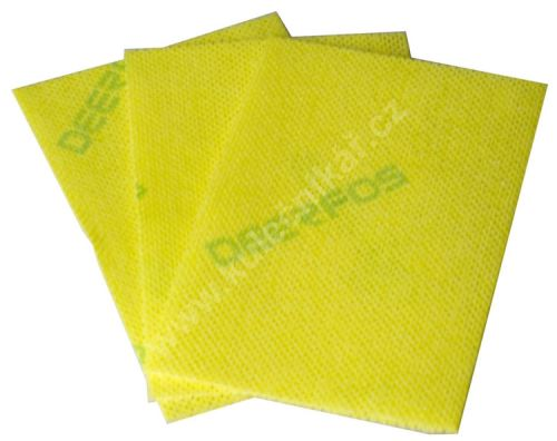 Cleaning Cloth for cues Magic-Show, YELLOW