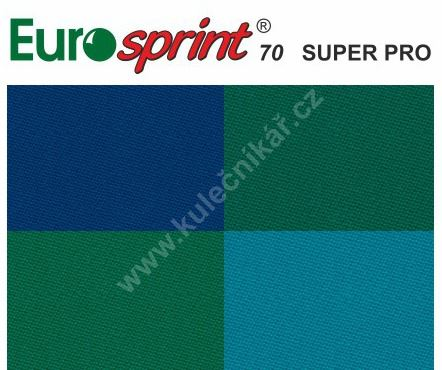 Poolové sukno EUROSPRINT 70 SUPER PRO, 198cm