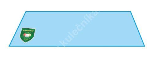 Vrchní tvrzené sklo na stolní fotbal - 115,5 x 71,2 cm