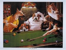 Billiard Posters Dogs - Jack the Ripper