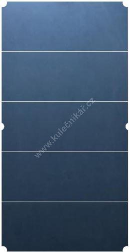 A five-part Slate plate 302.2 x160x3, 8 cm, 500 kg, 10 ft