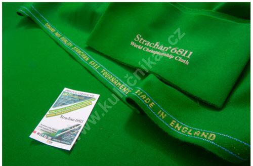 Snookerové sukno STRACHAN 6811 Gold Tournament 30'oz