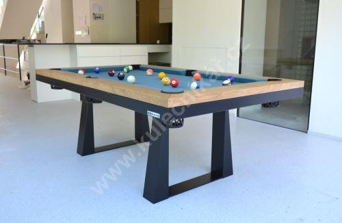 Kulečník Pool billiard CAVALIER, masiv - jídelní stůl