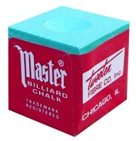 Chalk for billiard MASTER Chalk, green