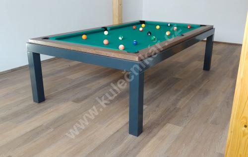 Kulečník pool billiard NEW AGE, Masiv/Komaxit - jídelní stůl