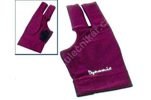 Kulečníková rukavice Dynamic Deluxe II Burgundy