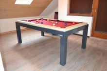 Kulečník NEW AGE Pool billiard 6 FT- jídelní stůl