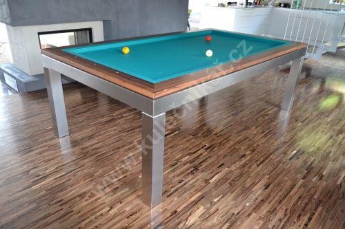 Nerezový karambolový stůl GENTLEMAN, Nerez