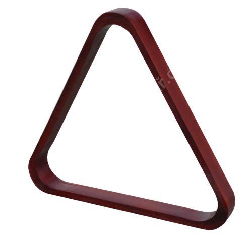 Trojúhelník dřevěný pro snookerové koule 52,4 mm