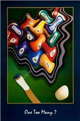 Billiard Poster - Ball + Triangle