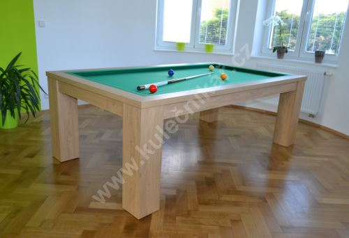 Carom Billiards COMPACT DINNER - dining table