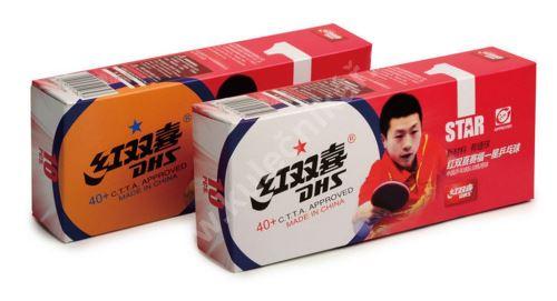 Pingpongové míčky DHS, 40+ Cell Free, 10 ks