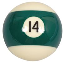 Spare ball pool single standard 14 - diameter 57.2 mm