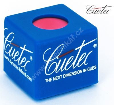 Case chalk plastic blue - Cuetec