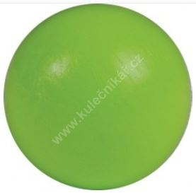 Soccer ball on the table - green plastic 34 mm