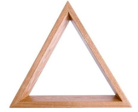Trojúhelník SOLID WOOD PROFI