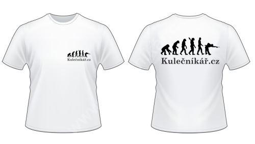 Kulečníková trička s potiskem Kulečníkář.cz