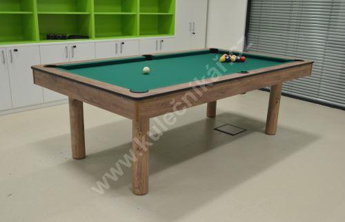 Snooker pool billiards KID, laminated game board
