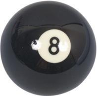 Náhradní koule pool standart jednotlivá č.8 - průměr 57,2mm