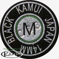 Vrstvená lepící kůže KAMUI Black 14 mm, Medium