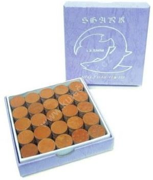 Vrstvená kůže SHARK CUE Tips, Medium, 13 mm