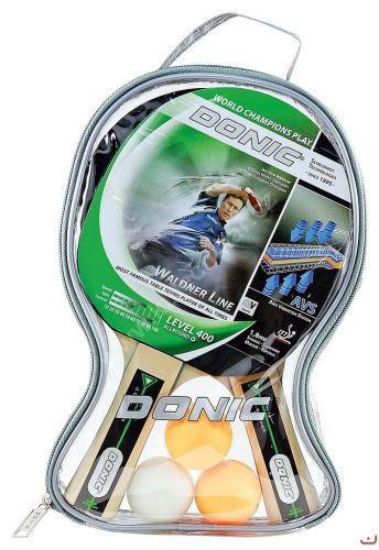 Sada pálek na pingpong DONIC Waldner 400, konkávní