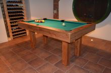 Snooker pool billiards BILL four feet, slate board