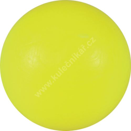 Soccer ball on the table - yellow plastic 34 mm