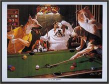 Billiard glazed picture PSI - Jack the Ripper