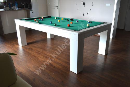 Kulečník pool billiard PANTEON - jídelní stůl