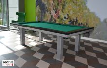 Snooker pool billiards SLIM 7.5 ft - dining table