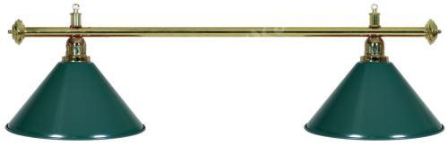 Billiard lamp - gold + 2 red Sirma