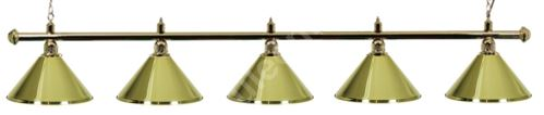 Billiard Lamp Green Light Gold 5 Gold ramp, green Sirma