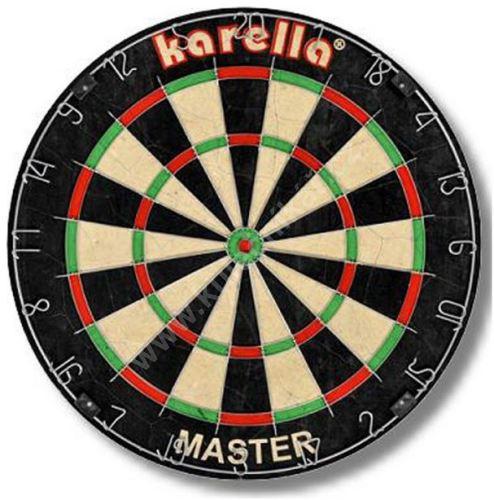 Sisalový šipkový terč Karella Master