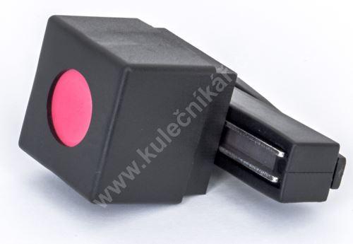 Magnetic holder for billiard chalk