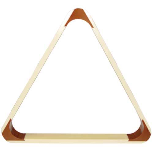 The triangle on the construction of pool balls, natural 57.2 mm
