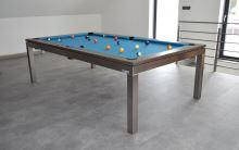 Kulečník pool billiard GENTLEMAN 7,5ft, nerez
