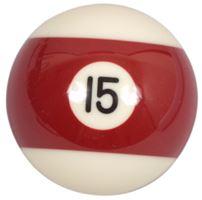 Náhradní koule pool standart jednotlivá č.15 - průměr 57,2mm