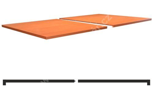 2-dílné krycí desky s bočním nákližkem, Lamino