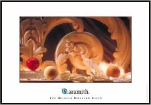 Zasklený obraz Aramith, Carom ball paradise