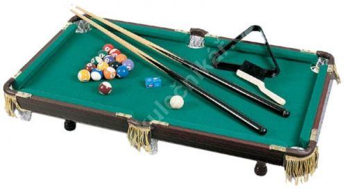 Mini pool - a functional replica poolového table