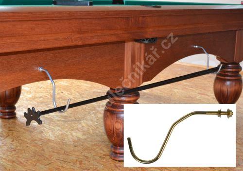 Brass hook for snooker